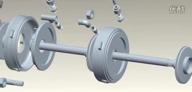 卧式多级离心泵拆装示意动画-长沙宏力水泵厂