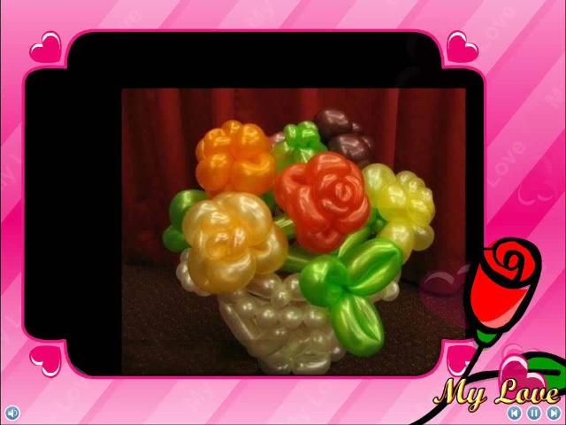 手工制作魔术 气球造型葡萄苹果水果
