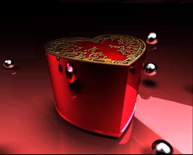 心型戒指盒子打开动态视频素材_54_184