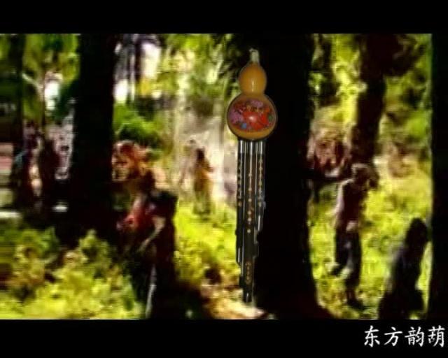 葫芦丝十大名曲 葫芦丝二重奏 竹林深处 东方韵葫芦丝