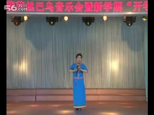 葫芦丝独奏《月光下的凤尾竹》演奏 芭.
