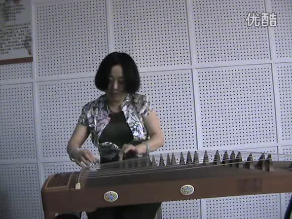 青花瓷古筝演奏袁莎_青花瓷古筝
