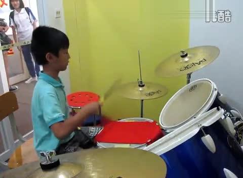 琴之岛艺术中心《张杰逆战》林子健 爵士鼓练习视频