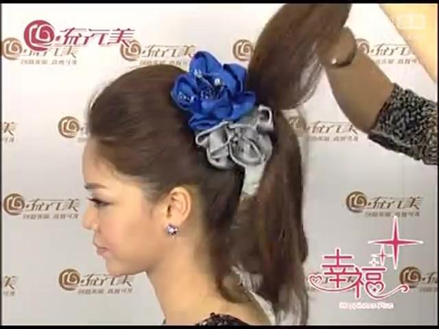 怎么梳头发好看 侧扎蜈蚣辫盘发