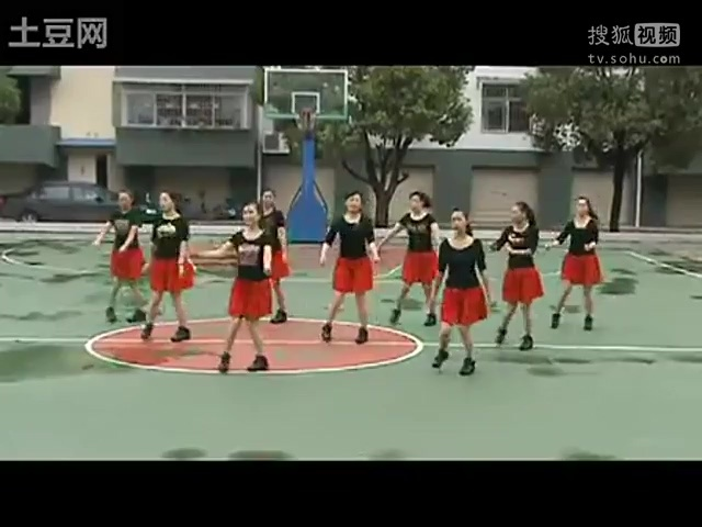 紫蝶广场舞纳西情歌_五三动动云裳广场舞纳西情歌背面分解动作视频