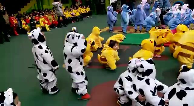 宝宝幼儿园冬季运动会