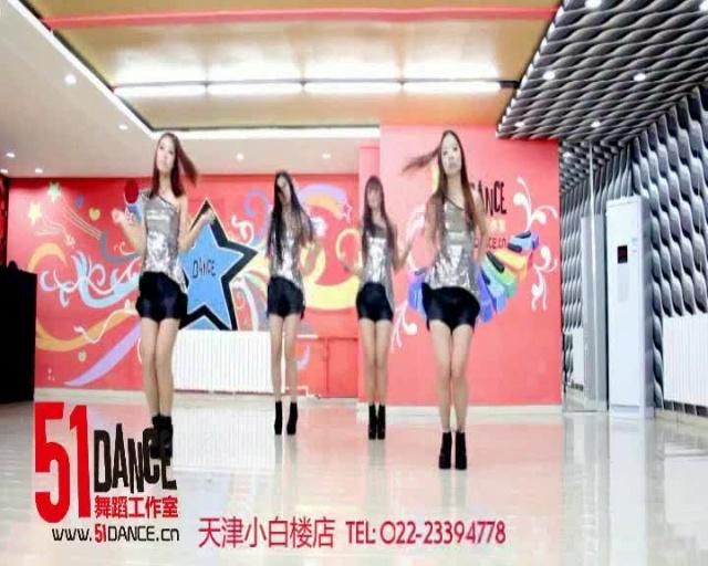 韩国美女性感爵士舞舞蹈教学视频