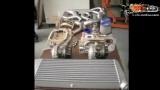 stoptech代理总代大连德利车 最优刹车距离刹车套装 350Z