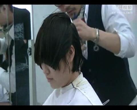 短发美发造型 女士短发剪发视频 2013美发剪发图片