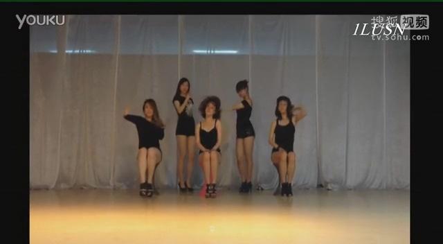 简单易学好学的爵士舞舞蹈入门教学视频