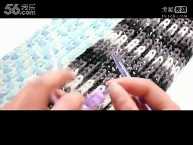 男士围巾织法 围巾的各种织法图解