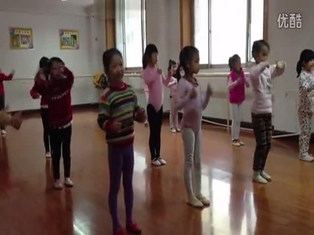 幼儿舞蹈考级一级 超级变变变