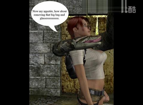 原创视频:美女特工 被蟒蛇诱惑吃掉了