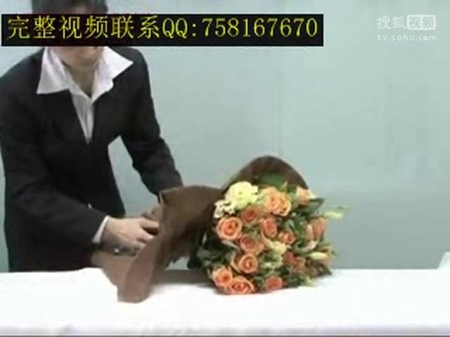 推荐:包花技巧视频_如何包玫瑰花
