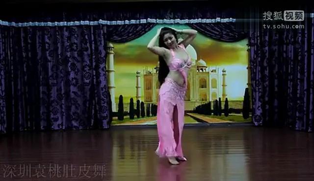 【7k】美女袁桃老师 性感肚皮舞视频