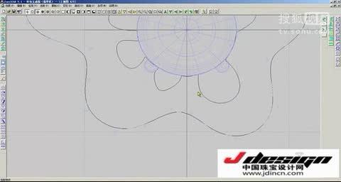 jcad珠宝设计视频jdincn教程6(花包玉戒指)