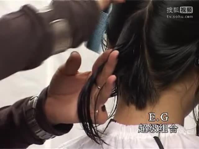 沙宣精剪视频 短发波波头 女士短发剪发图片