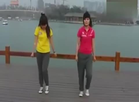 简单现代舞蹈教学视频