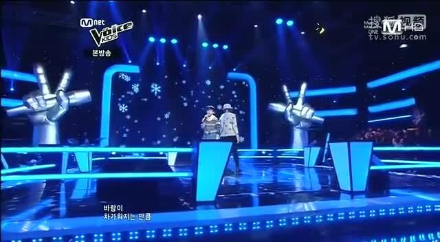 韩国好声音儿童版 《雪之花》现场版