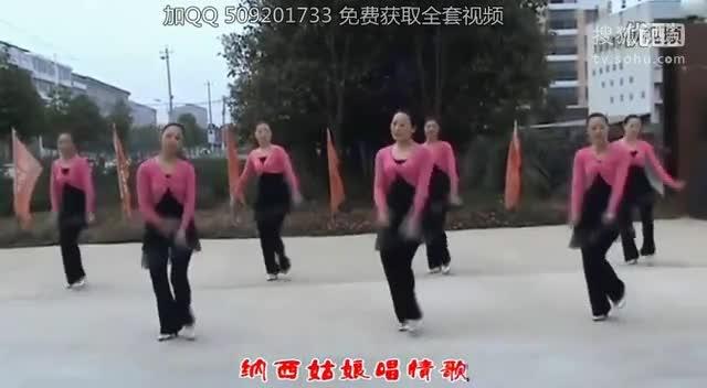 紫蝶广场舞纳西情歌_糖豆广场舞课堂2015_云裳广场舞纳西情歌_五