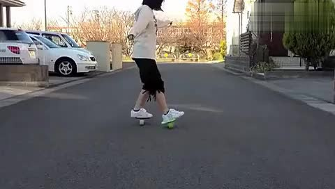 【漂移板美女高手】