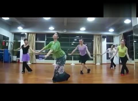 简单古典舞蹈教学《琵琶语》女子群舞