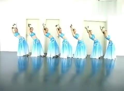 碧波孔雀舞蹈公司年会创意演出舞蹈 圣诞晚会