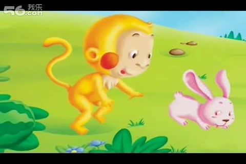 小猴子下山简笔画图片大全展示-小猴子下山