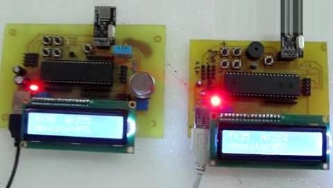 无线温湿度测量 无线烟雾检测 烟雾报警器 湿度报警装置