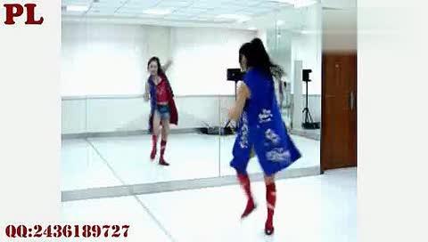 简单好看的女生街舞初级入门舞蹈教学(高清)