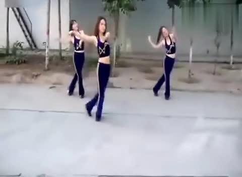 美女广场舞 恰恰舞
