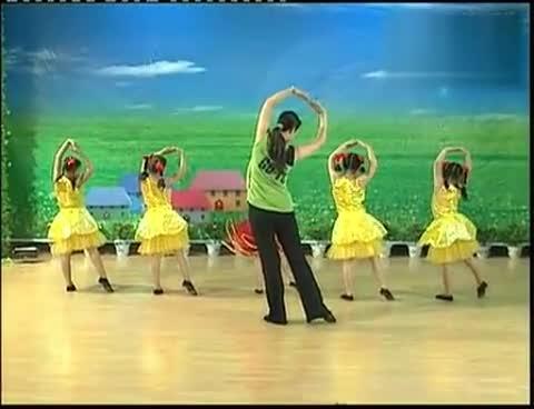 儿童舞蹈-娃哈哈-(含动作解析)