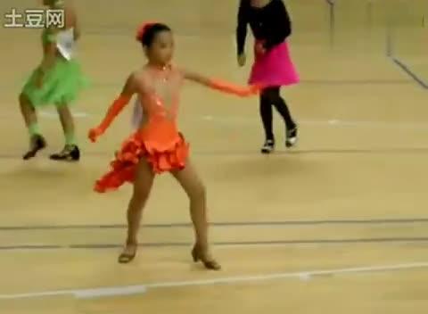 儿童拉丁舞 拉丁舞