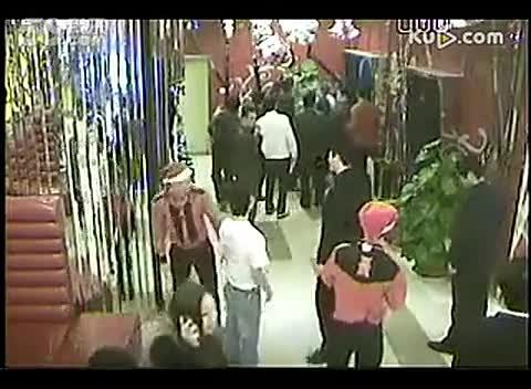 青岛聂磊黑社会打架砍人现场视频