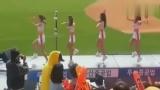 韩国美女拉拉队现场大跳鸟叔绅士摆臀舞