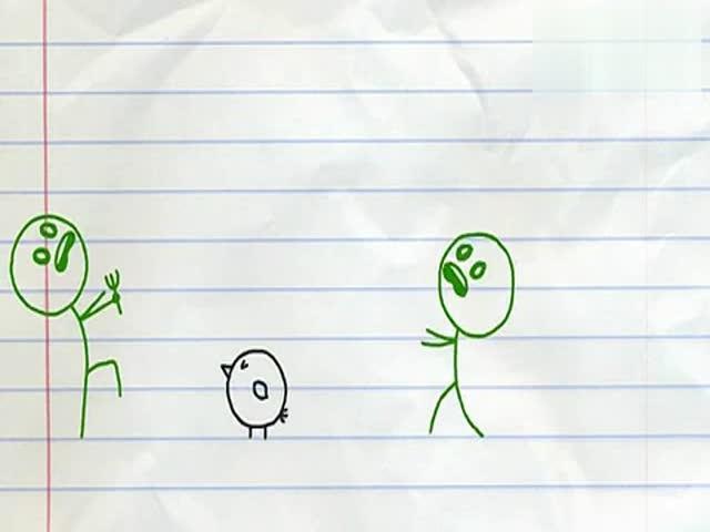 儿童小游戏 铅笔画小人4
