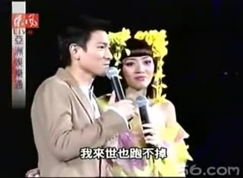2003梅艳芳演唱会刘德华做嘉宾(东风图片