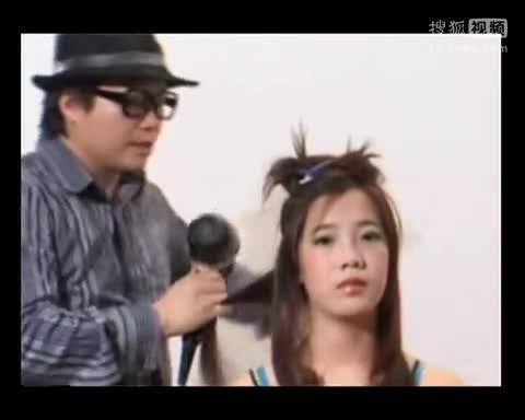 mpg 沙宣 吹风造型 吹风造型技巧 美发 吹风视频 教你梳头发型 晚宴