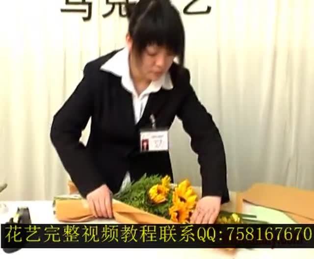 视频_棒棒糖花束制作_棒棒糖花束制作过程_三